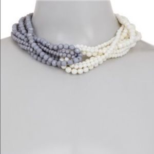 14th & Union Two Tone Twisted Multi Necklace